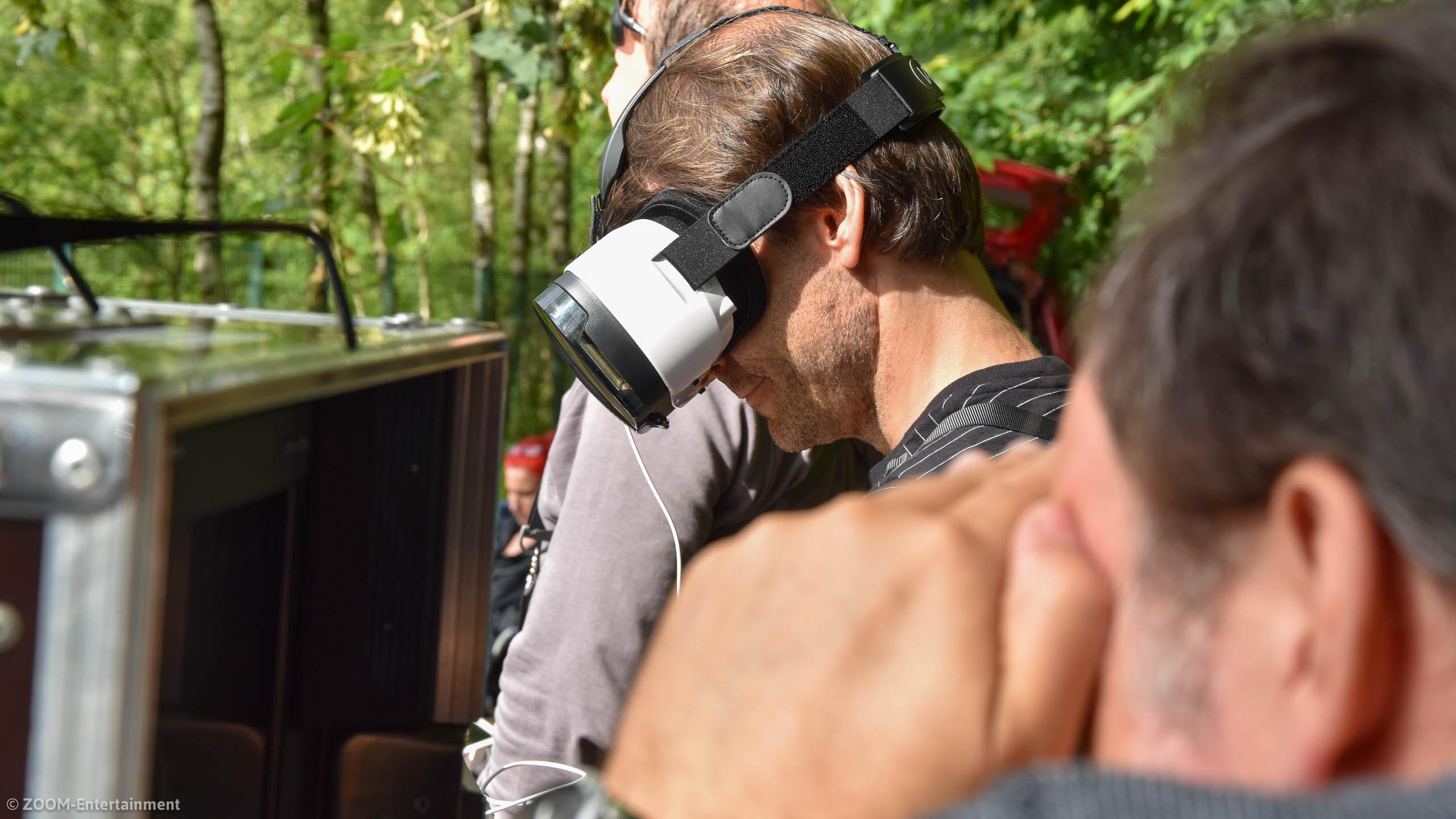 Kinospot Neanderlandsteig mit Manuel Andrack Drohnekamera